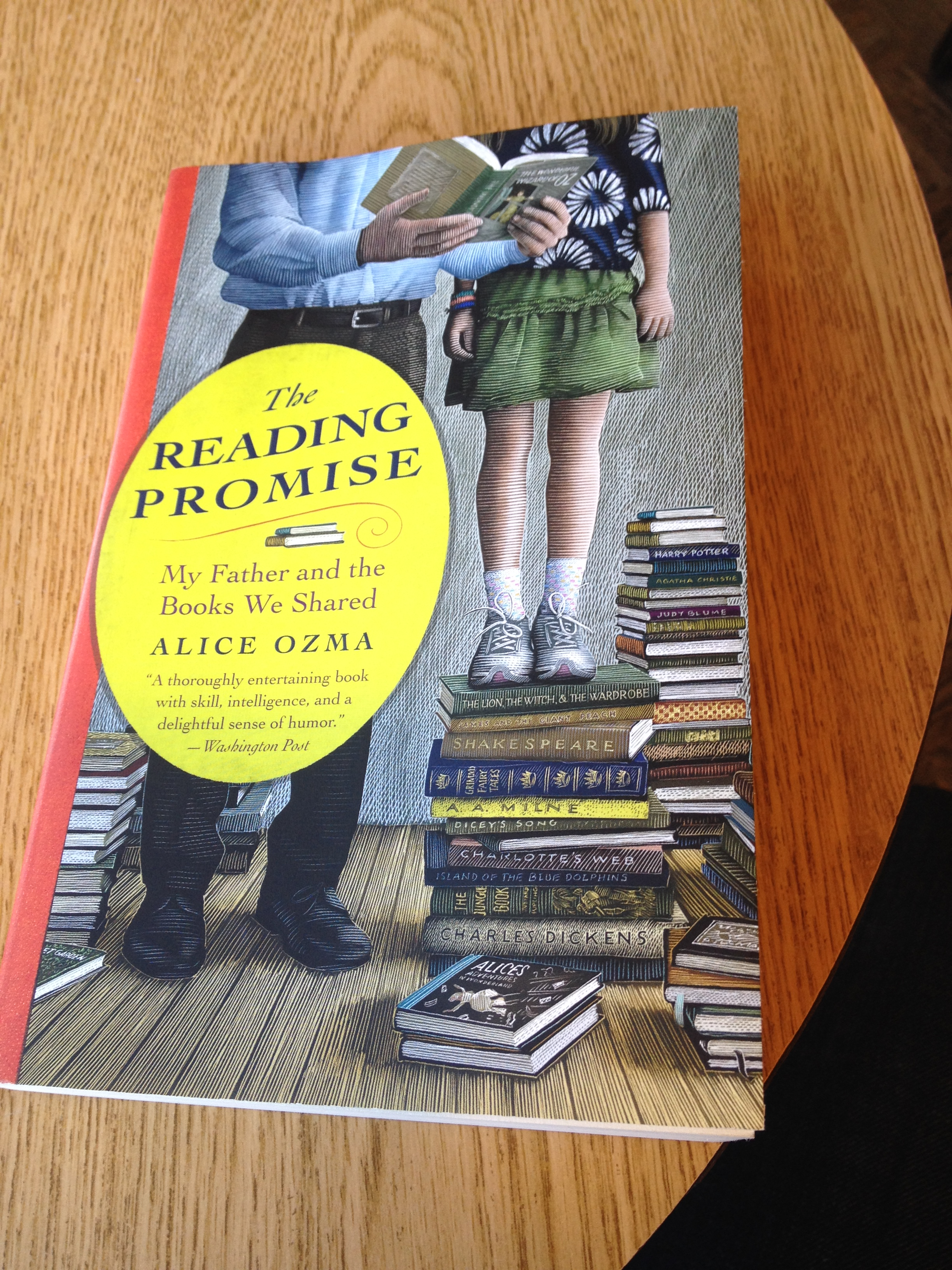 Have You Ever Picked Up A Book And Known You Were Going To Love It? That's  How I Felt About The Reading Promise I Saw It In My Favorite Bookstore,