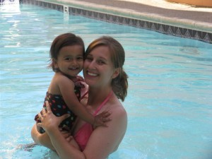 mom and sienna