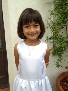Sienna's First Holy Communion