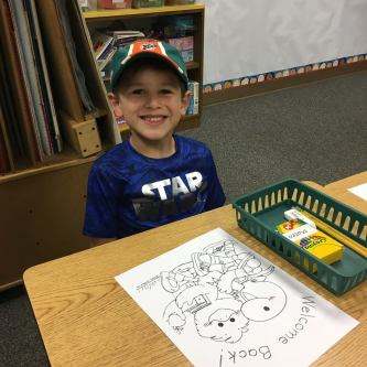 Teo first day of 1st grade